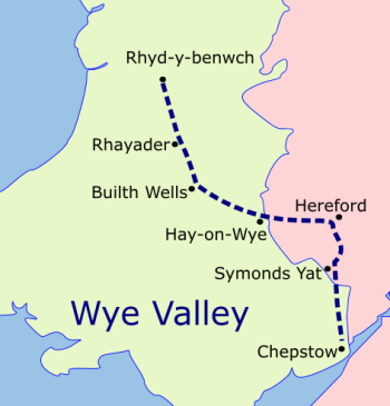 Wye Valley Walk map