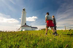 Nash Point Lighthouse © Visit Wales
