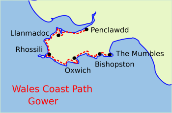 Wales Coast Path Gower